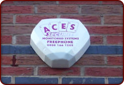 Security services - Solihull, West Midlands - Aces Security & Electrical - Intruder alarms